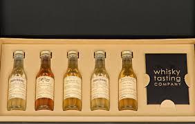 personalised whisky tasting set large 5