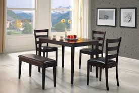 breakfast room furniture ideas. Dining Room Set With Bench Seat Classic S Model In Design Breakfast Furniture Ideas