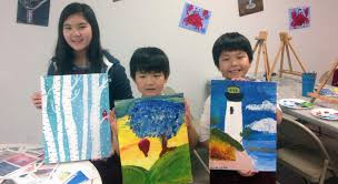 children ages 5 12 enjoy kids and family painting classes at carefree colors