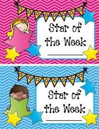 Star Student Chart