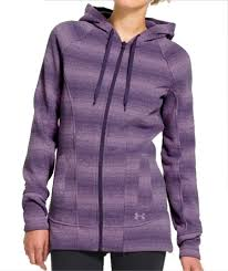 under armour zip up. under armour women\u0027s wintersweet full zip storm sweater knit hoodie (twilight purple) 1240071-500 up