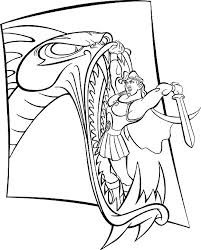 Small Picture Coloring Page Hercules coloring pages 6