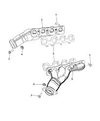 2007 dodge charger intake exhaust manifold thumbnail 6