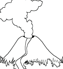 volcano coloring pages post volcano diagram coloring pages