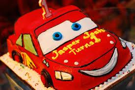 Lightning Mc Queen Cars Birthday Cake Chedz Cakes Of Cebu