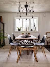 industrial talks create a trendy industrial dining room