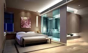 modern bedroom with bathroom. Great Master Bedroom With Bath And Walk In Closet Modern Bathroom