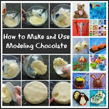 how to make and use modeling chocolate it s easy and fun see the modeling
