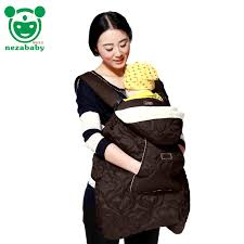Cotton Infant Baby Carrier Sling Cover For Winter Baby Backpack ...