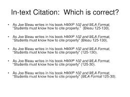 Ppt Mla Format Slide Show Powerpoint Presentation Id150648