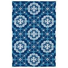 matira blue 9 ft x 12 ft indoor outdoor area rug