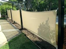 outdoor privacy shades. Outdoor Privacy Shades Cream Fabric Porch Screen With And Garden Lamp In . D