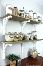 open wooden kitchen shelves kitchen wooden shelf open shelving pantry wood shelves glass containers make this
