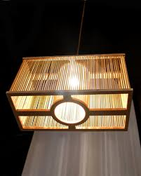 plywood lighting. EMS Free Shipping E27 Pendant Light Plywood Square Cage Lamp Fixture For Home Decorative Lighting Craft 2LBMP ML-in Lights From N