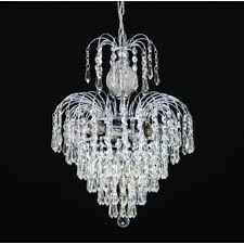 7 light 19 asfour lead crystal 24ct gold plated waterfall chandelier w prisma lighting illusions