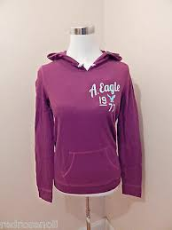 American Eagle Womens Shirt Size Chart Ae American Eagle Womens Lightweight Popover Hoodie T Shirt Top Burgundy Red S 400188768882 Ebay