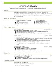 Extraordinary Professional Resume Model 167043 Resume Ideas