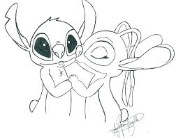 Stitch Coloring Pages To Print Lilo And Stitch Coloring Pages Lilo