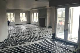 How To Install A Heat Pump Air Source Heat Pump Underfloor Heating Install Armagh Nutech