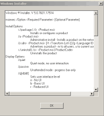 what is windows installer windows installer msi inno parameter passing correctly stack