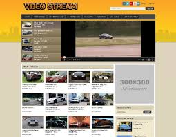 website template video create a video website curate videos from youtube facebook and