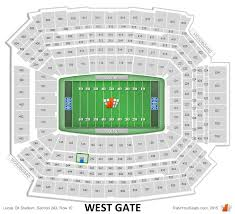 Where Exactly Is Section 243 Row 10 At Lucas Oil Stadium