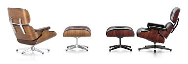 the lounge chair created by charles and ray eames in the 1950s was designed with the aim of combining an elegant appearance with ultimate comfort