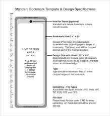 Bookmark Template Word 18 Bookmark Templates Pdf Doc Free Premium Templates