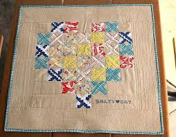 Cross Stitch Block Tutorial // Slice & Insert Method – Pile O' Fabric & Back in 2012 I posted the Cross-Stitched Quilt Block tutorial, which I was  inspired to post after I made a Cross Stitch Heart Quilt. Adamdwight.com