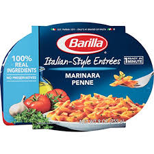amazon barilla italian style entrees marinara penne 9 ounce pack of 6 penne pasta grocery gourmet food
