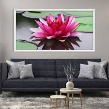large wall art fl canvas print pink lotus flower and water lilies mygreatcanvas com extra large wall art wall art print large world map canvas