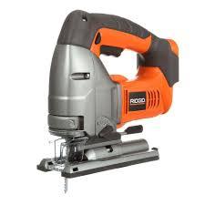 ridgid tools saw. ridgid 18-volt x4 cordless jig saw console ridgid tools r