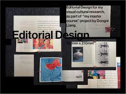 Master Editorial Design Dongni Liang