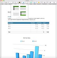 How To Create Charts And Tables In Apples Pages Word