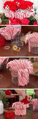 Candy Cane Vase | 20 DIY Christmas Party Ideas for Adults