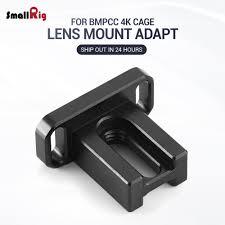 Support Blackmagic Design Us 18 42 47 Off Smallrig Dslr Camera Rig Metabones Adapter Support For Bmpcc 4k Camera For Blackmagic Design Pocket Cinema Camera 4k 2247 In Lens