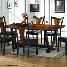 extraordinay black wood dining table o6542987 small dark wood dining tables uk