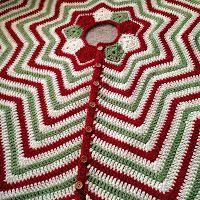 Christmas Tree Skirt Crochet Pattern New Christmas Tree Skirt Free Crochet Pattern Diy Holiday Crafts
