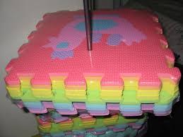 picture of preparing puzzle mats