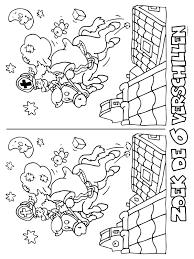 Kleurplaat Zoek De Verschillen Kleurplatennl Vánoce Knutselen