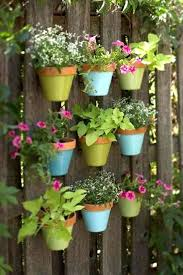 painted clay flower pots painted terracotta flower pots in the fences hand painted clay flower pots