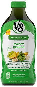 v8 fruit vegetable blends
