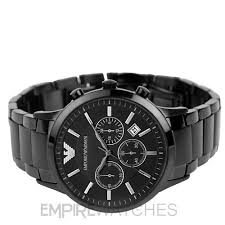 new mens emporio armani black ion plated watch ar2453 rrp new mens emporio armani black ion plated watch ar2453 rrp £399 00