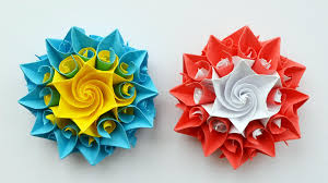 How To Make Origami Paper Flower Very Beautiful Paper Flower Decoration For Gift Box