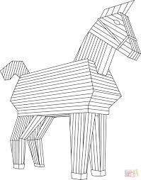 Disegno Di Cavallo Di Troia Da Colorare Disegni Da Colorare E Con