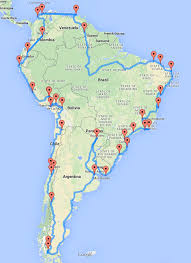 optimal road trip across south america