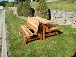 fold up wood picnic table wooden folding picnic table for incredible fold up picnic table round