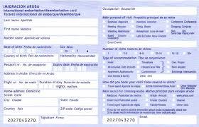 jamaican immigration form aruba online ed