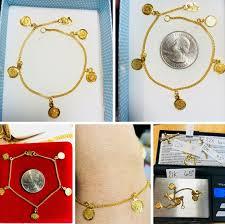 real 21k gold bracelet