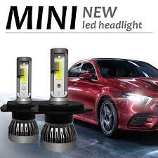 <b>2 pcs Mini</b> H7 <b>LED Car</b> Light Headlight Bulbs H1 <b>LED</b> H8 H9 H11 ...